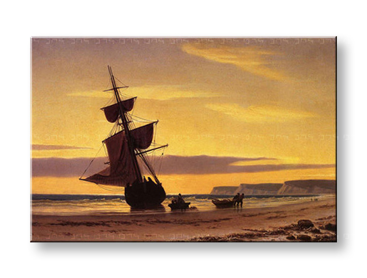 Slika na platnu COASTAL SCENE – William Bradford