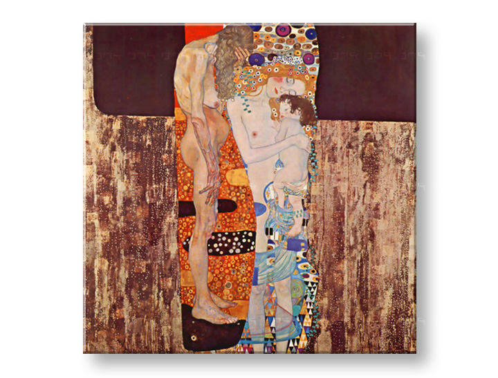 Slika na platnu THREE AGES OF WOMAN – Gustav Klimt