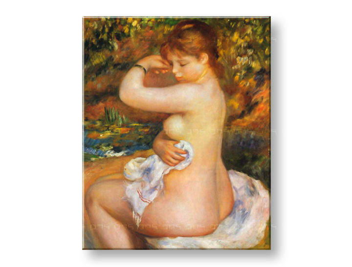 Slika na platnu AFTER THE BATH – Pierre Auguste Renoir