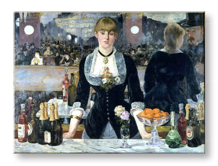 Slika na platnu BAR AT THE FOLIES-BERGÉRE - Édouard Manet