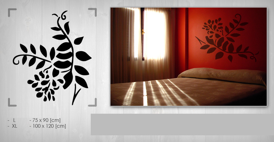 >Black Friday 60%< Stenske nalepke ROŽE 100x120 cm NAK006/24h - temno rumena