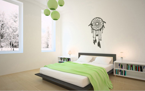 Stenske nalepke DREAM CATCHER NALS005